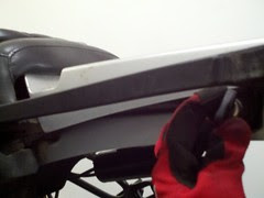 Remove front seat bmw r1150gs