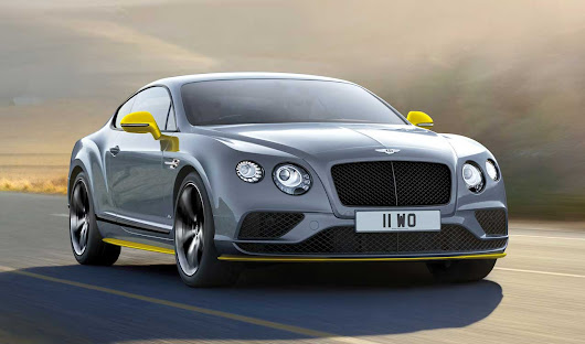 2016 Bentley Continental GT Speed And Black Edition Unveiled