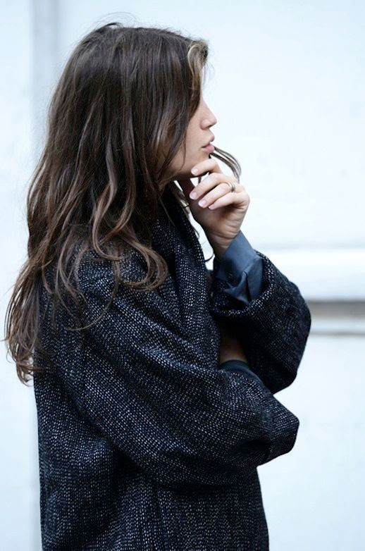 Le Fashion Blog Paris Street Style Marine Vacth Long Tweed Coat French Long Hair Via Tommy Ton photo Le-Fashion-Blog-Paris-Street-Style-Marine-Vacth-Long-Tweed-Coat-French-Long-Hair-Via-Tommy-Ton.jpg