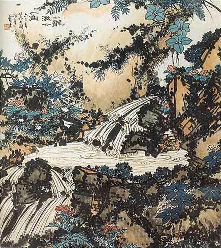 潘天寿 PAN Tianshou - Cascade