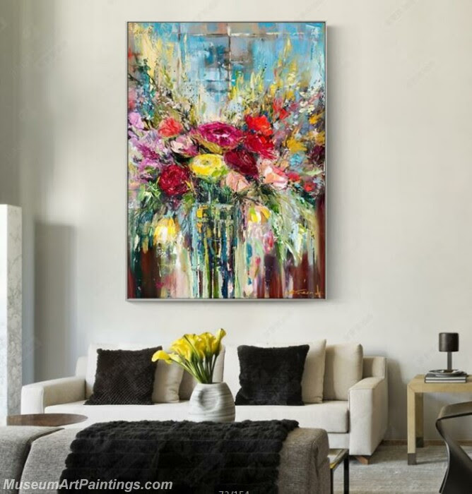 Living Room Paintings for Sale Abstract Painting B013