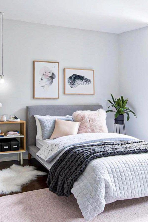51+ New Decor grey bedroom design ideas for 2020 - Page 14 ...