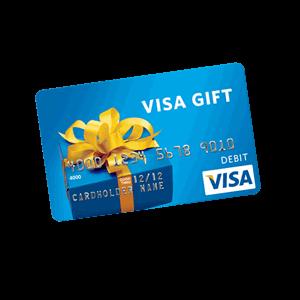 $12  Visa  Gift card