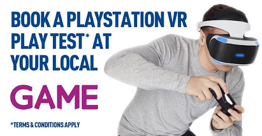 GAME Is Charging Customers For A Sales Pitch Of PlayStation VR And People Aren't Happy