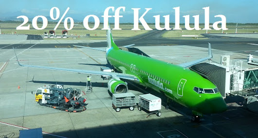 Kulula 20% Off All Flights