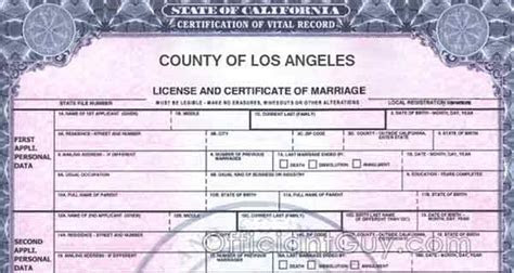 Copy of Marriage License Request Form for Confidential
