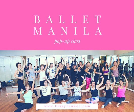 Ballet for Adults with Ballet Manila - Kikay Runner