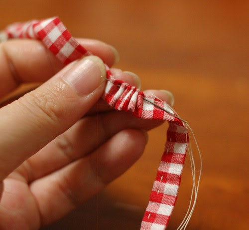 How to make a patchwork string 14