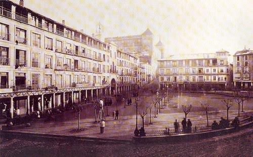 Plaza de Zocodover hacia 1885