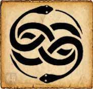 Simbolo celta Wuivre