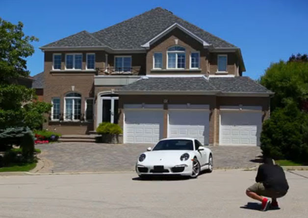 Porsche Dealer Puts Your House In Direct Marketing Material