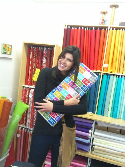 Rachel Loves Her Fabric!