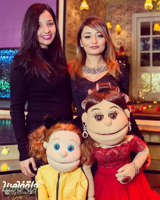 راندا البحيري وشقيقتها رنا