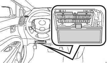 03 09 Toyota Prius Xw20 Fuse Diagram
