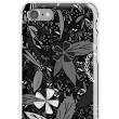 'Black flower seeds' iPhone Case/Skin by CraftCartwright