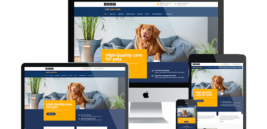 Animal Care WordPress Theme - LT Anicare