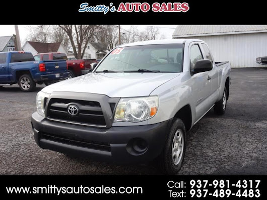 Used 2005 Toyota Tacoma Access Cab I4 Manual 2WD for Sale in Greenfield OH 45123 Smitty's Auto Sales