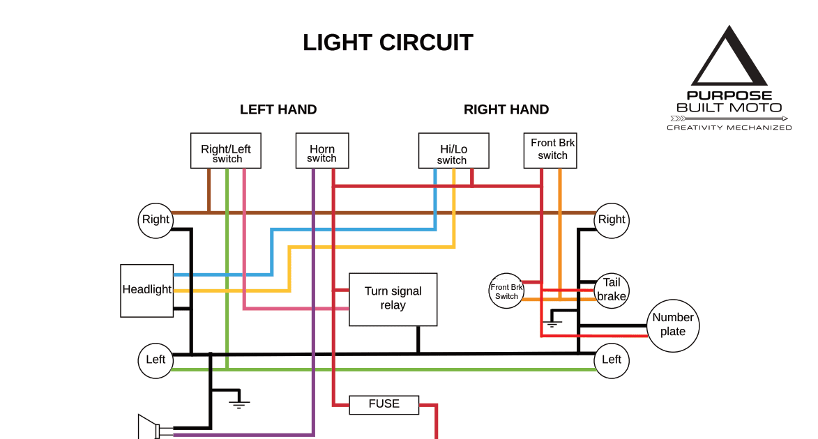 Ignition Switch Wiring Diagram 1973 Dt3 Yamaha Motorcycle ...