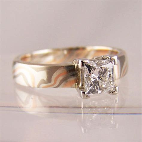 1000  images about Mokume Gane #Wedding #Rings on