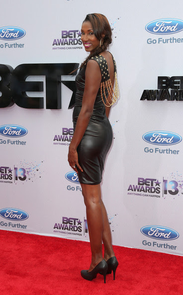 Former WNBA player Lisa Leslie attends the 2013 BET Awards at Nokia Theatre L.A. Live on June 30, 2013 in Los Angeles, California.