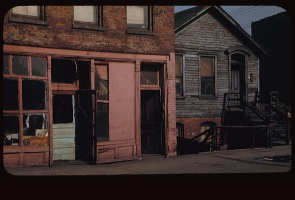 Maxwell St. barber shop 1044 - 40 = Chgo.