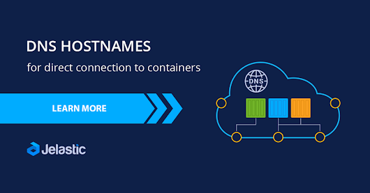 DNS Hostnames for Direct Connection to Containers at Jelastic PaaS