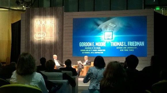 Gordon Moore Tom Friedman