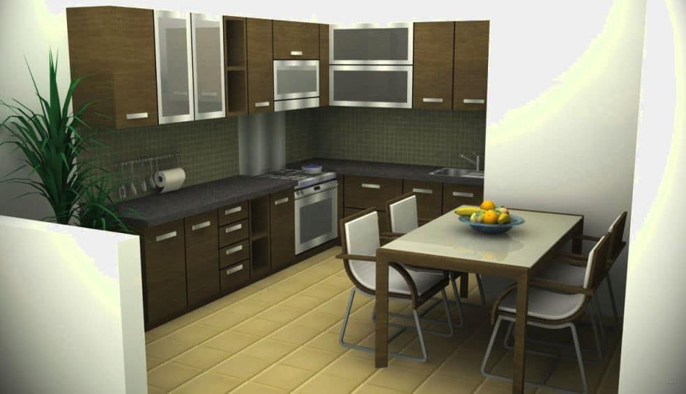 Membuat Model Interior Dapur Rumah Minimalis Yang Baik