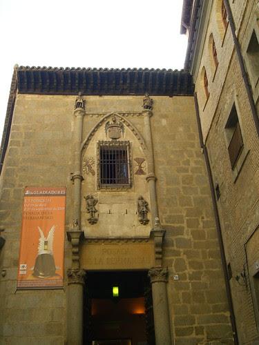 Fachada de la Posada de la Hermandad de Toledo