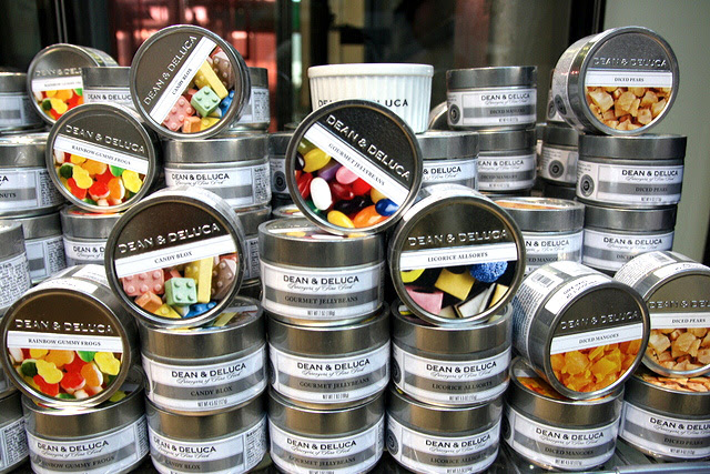 All sorts of Dean & DeLuca tinned goodies
