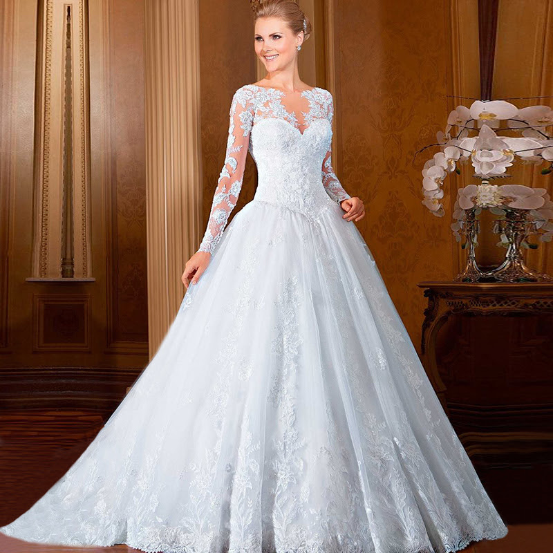 wedding gowns ball gown vestidos de noiva 2016 western