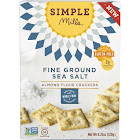 Simple Mills Fine Ground Sea Salt Almond Flour Crackers - 4.25 oz box