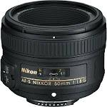NIKON AF-S 50/1.8G Nikkor Standard Lens (58mm)