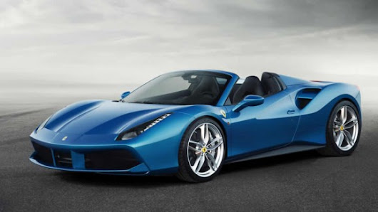 Ferrari 488 Spider Revealed