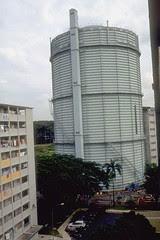 PUB Gas Tank at Tanglin Halt