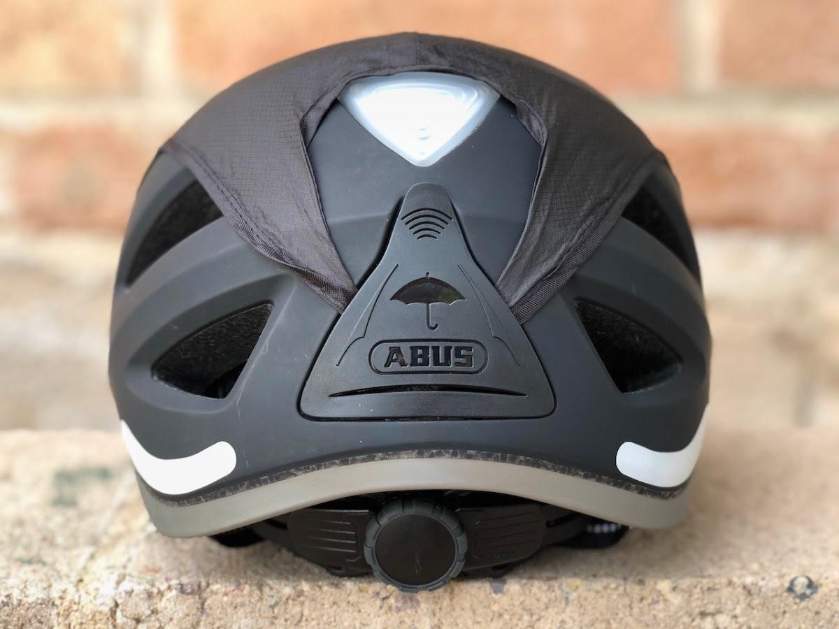 Abus Pedelec Helmet Review Built In Rain Cover Rear Led Light Electric Bike Report