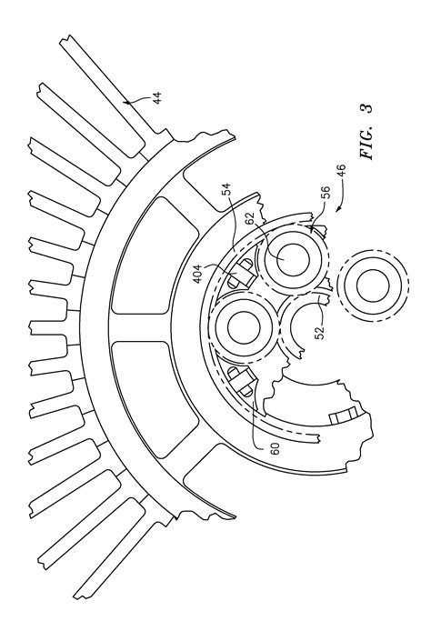 Patent US8844265 - Turbine section of high bypass turbofan