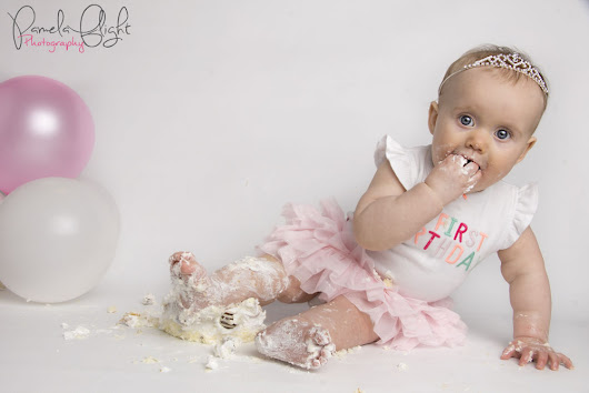 1st Birthday Cake Smash by Pamela Flight