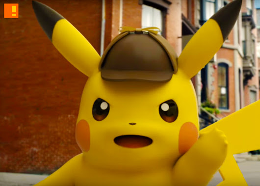 That Sherlock Holmes / Pokémon game title? It's now a movie