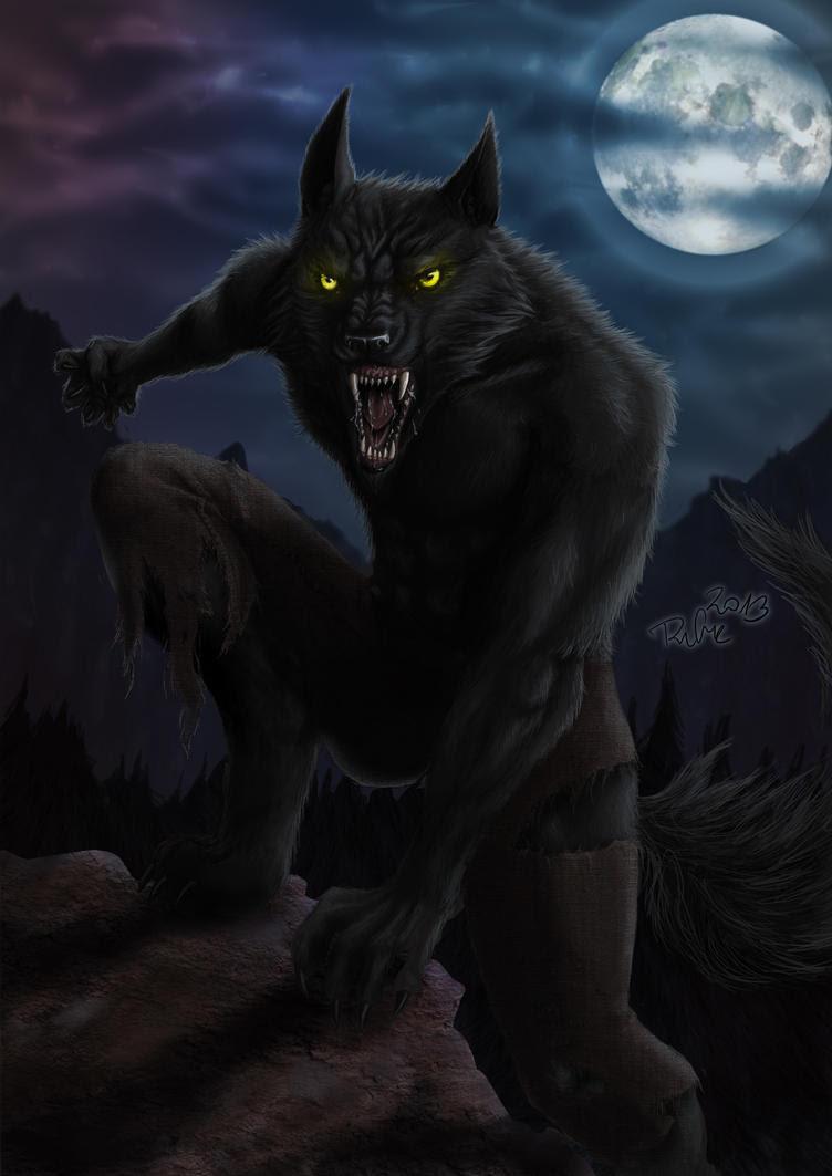 Resultado de imagem para halloween werewolf