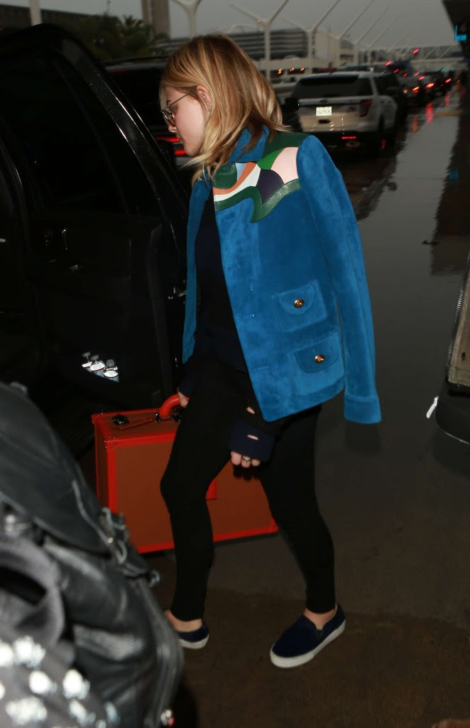 Chloe Moretz: Arrives at LAX Airport -02
