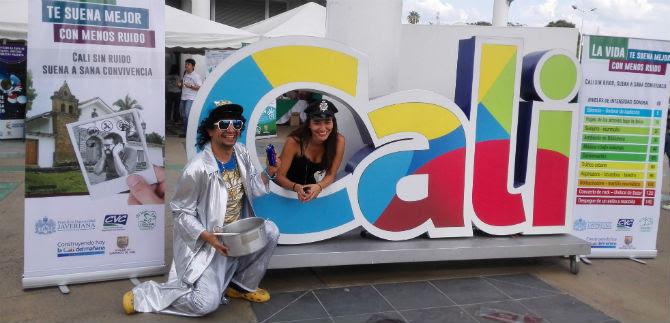 Dagma presentó campaña lúdica contra el ruido, en la Feria Ambiental