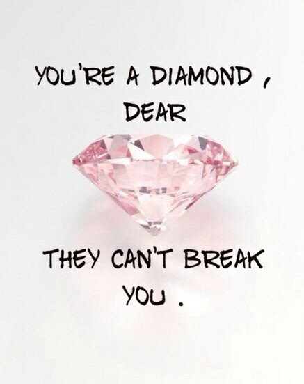 Diamond Girl Inspirational Life Post Quotes Sayings Tumblr