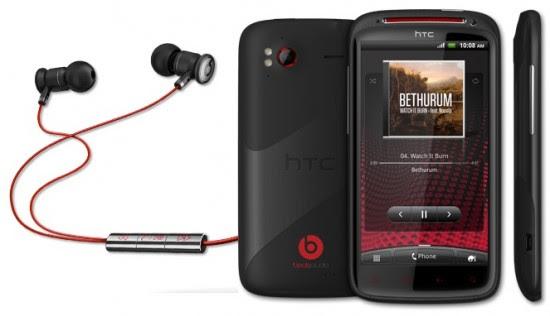 HTC Sensation XE 550x316 Top 10 Touchscreen Phones for 2012