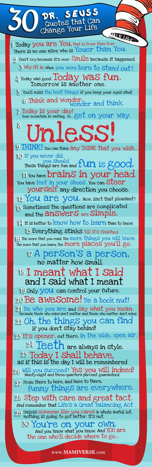 30 Dr. Seuss Quotes That Can C