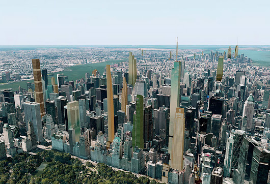 what will new york city's skyline look like in 2018? - designboom | architecture & design magazine
