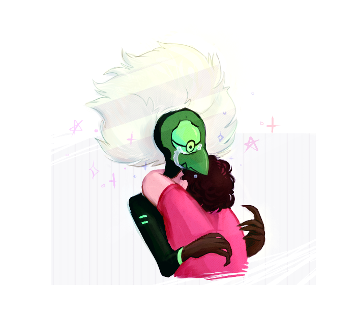 steven pls hug the monster mom