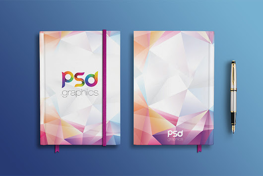 Notebook Branding Mockup Free PSD | PSD Graphics