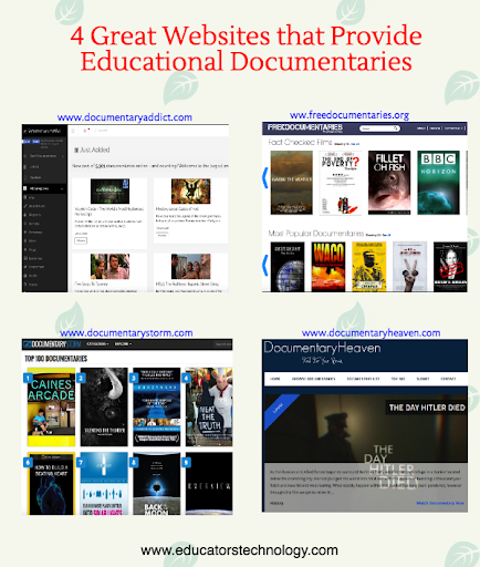 4 Good Websites That Provide Educational Documentaries