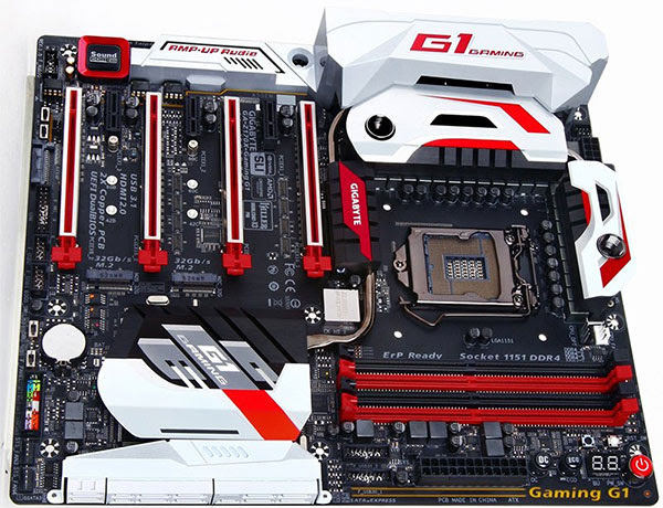 Gigabyte Z170 G1 Gaming. (Image Source: Maximum PC)